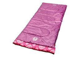 Coleman Girl's 45 Degree Sleeping Bag Polyester Pink
