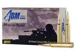 ABM Mission Ready-Tactical Ammunition 300 Winchester Magnum 215 Grain Berger Match Hybrid Target ...