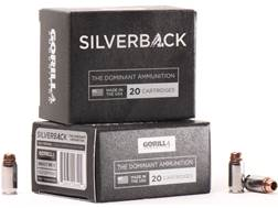 Gorilla Silverback Self Defense Ammunition 380 ACP 95 Grain Hollow Point Copper-Lead Free