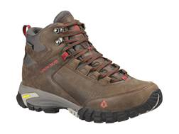 "Vasque Talus Trek UltraDry 5"" Waterproof Hiking Boots Synthetic and Leather Slate Brown and Chili..."