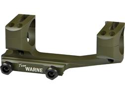 "Warne 1-Piece Gen 2 Extended SKEL MSR Scope Mount Picatinny-Style with 1"" Rings Mil-Spec OD Green..."