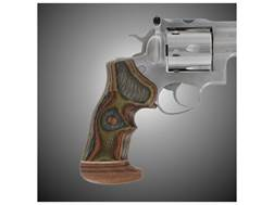 Hogue Fancy Hardwood Grips with Accent Stripe and Top Finger Groove Ruger GP100, Super Redhawk Ov...