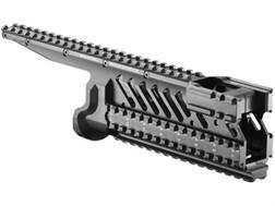 FAB Defense 6-Rail Integrated Rail System Micro Galil Aluminum Black