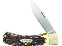 "Uncle Henry Special Edition Bruin Folding Pocket Knife 2.8"" Drop Point 7Cr17MoV High Carbon Stain..."