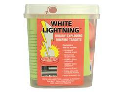 Tannerite White Lightning Rimfire Exploding Target Package of 15