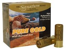 "Kent Cartridge Gamebore Pure Gold Diamond Shot Ammunition 12 Gauge 2-1/2"" 1 oz #7 Shot"