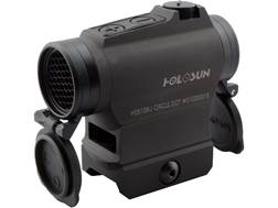 Holosun HS515BU Red Dot Sight 1x Selectable Reticle Weaver-Style Quick-Release Lower 1/3 Co-Witne...