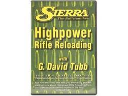 "Sierra Video ""High-Power Rifle Reloading"" with G. David Tubb DVD"