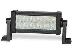 Cyclops C3 Series Dual Row LED Light Bar with Mounting Brackets Aluminum Black