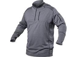 BLACKHAWK! Men's Convoy 1/4 Zip Shirt Long Sleeve Polyester Steel Small