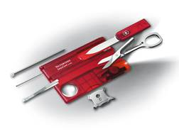 Victorinox Swiss Army SwissCard Lite Multi-Tool 12 Function Polymer Ruby