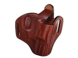 Bianchi 56 Serpent Outside the Waistband Holster Right Hand Smith & Wesson J-Frame Leather