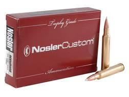 Nosler Trophy Grade Ammunition 300 Weatherby Magnum 180 Grain AccuBond Box of 20