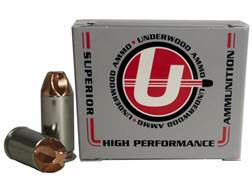 Underwood Xtreme Defender Ammunition 40 S&W 115 Grain Lehigh Xtreme Defense Lead-Free Box of 20