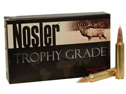 Nosler Trophy Grade Ammunition 33 Nosler 225 Grain Accubond Box of 20