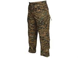 "Tru-Spec T.R.U. Tactical Pants Polyester Cotton Ripstop Woodland Digital Camo Medium Regular 31"" ..."