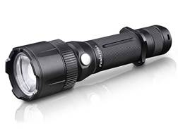 Fenix FD41 Flashlight LED Requires 2 CR123A or 1 18650 Rechargeable Battery Aluminum Black