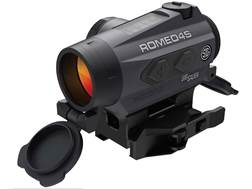 Sig Sauer ROMEO4S Red Dot Sight 1x Ballistic Reticle Torx and Quick-Release Mounts Solar/Battery ...