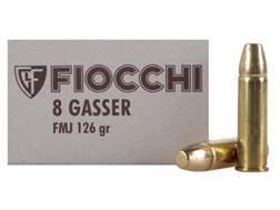 Fiocchi Ammunition 8mm Rast-Gasser 126 Grain Full Metal Jacket Box of 50