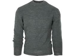 Military Surplus Swiss Sweater Grade 2 Wool Gray Large