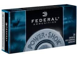 Federal Power-Shok Ammunition 300 Winchester Magnum 150 Grain Speer Hot-Cor Soft Point Box of 20