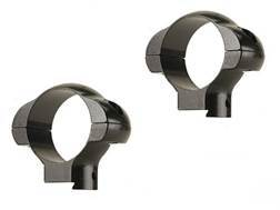 """Redfield 1"""" Tip-Off Ring Mount 3/8"""" Grooved Receiver Gloss Medium"""