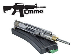 CMMG Rimfire Conversion Kit AR-15 with Magazine 22 Long Rifle Stainless Steel