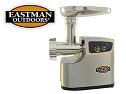 Eastman Outdoors Professional Meat Grinder 1 HP Stainless Steel