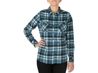 Women 39 s heartbreaker flannel button up shirt long sleeve for Polyester lined flannel shirts