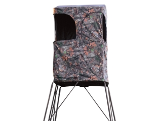 Rivers Edge Outpost 10 Tower Blind Steel Black Mpn Re703