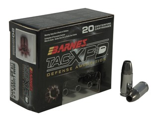 Barnes Tac Xpd Ammo 9mm Luger P 115 Grain Tac Xp Hollow