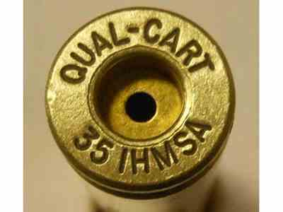 Quality Cartridge Reloading Brass 35 IHMSA Box of 20
