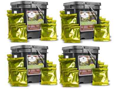 Wise Food 240 Serving Meat Freeze Dried Food Kit