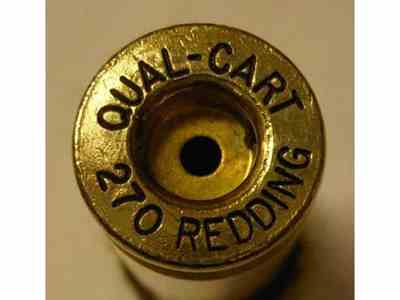 Quality Cartridge Reloading Brass 270 Redding Box of 20