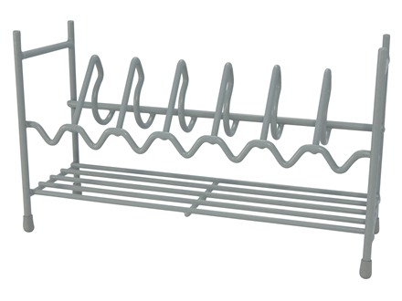 Hyskore Stackable 7-Gun Pistol Rack Vinyl Coated Steel Gray