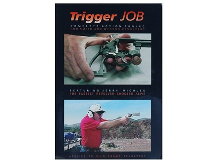 """Gun Video """"Trigger Job: Complete Action Tuning for Smith and Wesson Revolvers with Jerry Miculek"""" DVD"""
