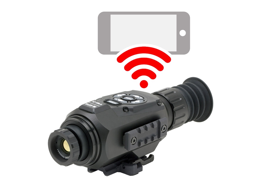 ATN ThOR HD Thermal Rifle Scope 1.5-15x 25mm 640x480 with HD Video Recording, Wi-Fi, GP...