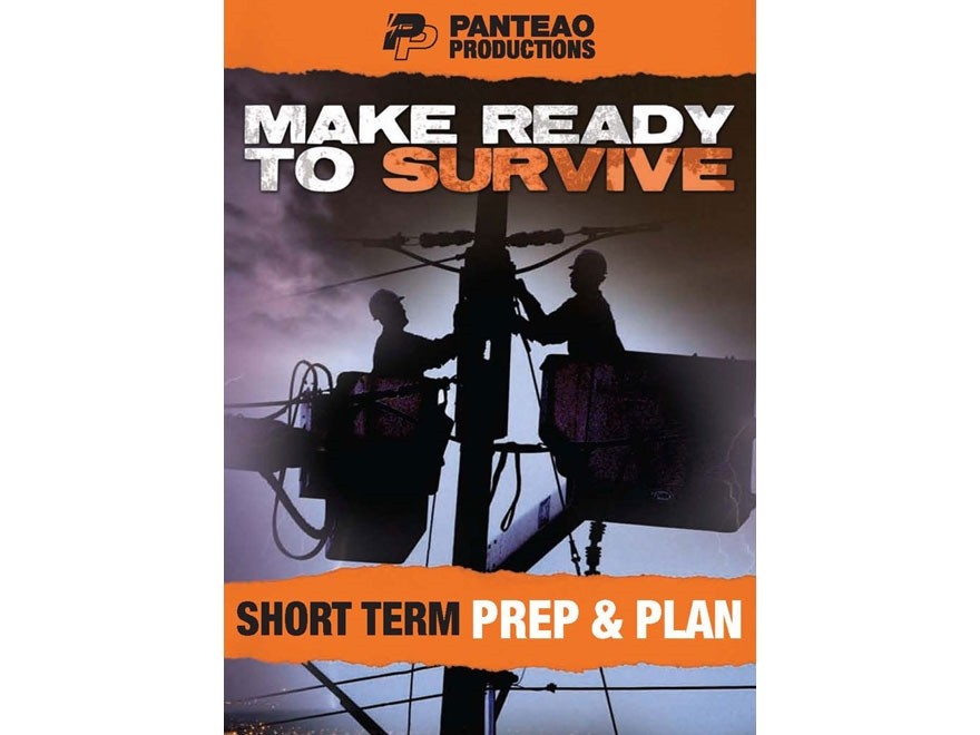 "Panteao ""Make Ready to Survive: Short Term Prep & Plan"" DVD"