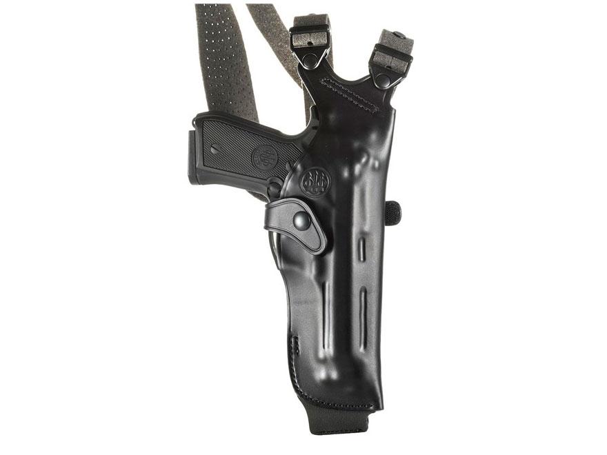 Beretta Mod. H Vertical Shoulder Holster 92FS, 96 Leather Black