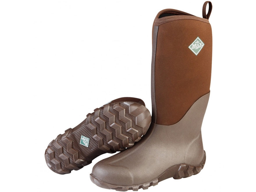 """Muck Edgewater II 14"""" Hunting Boots Rubber and Nylon"""