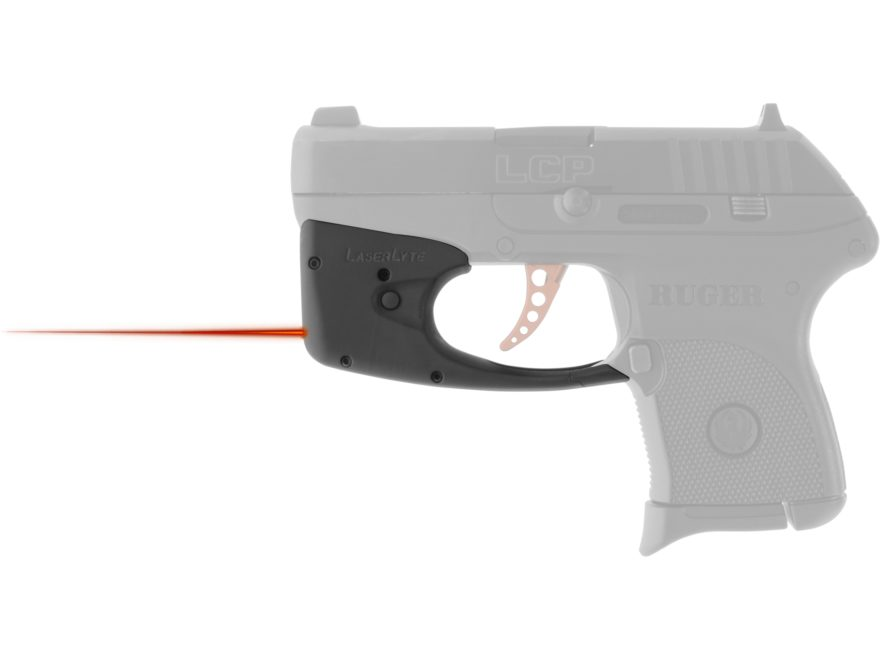 LaserLyte TGL Red Laser Sight Ruger LCP, LC9, LC9S and LC380