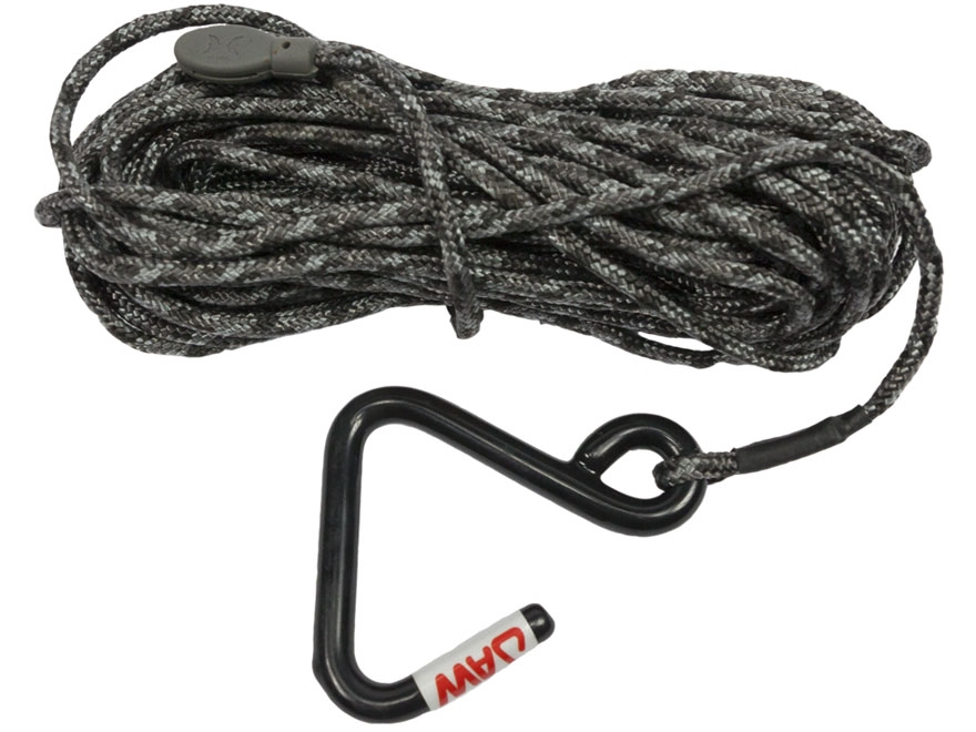 Hawk Jaw Hook Treestand Utility Rope Nylon Black