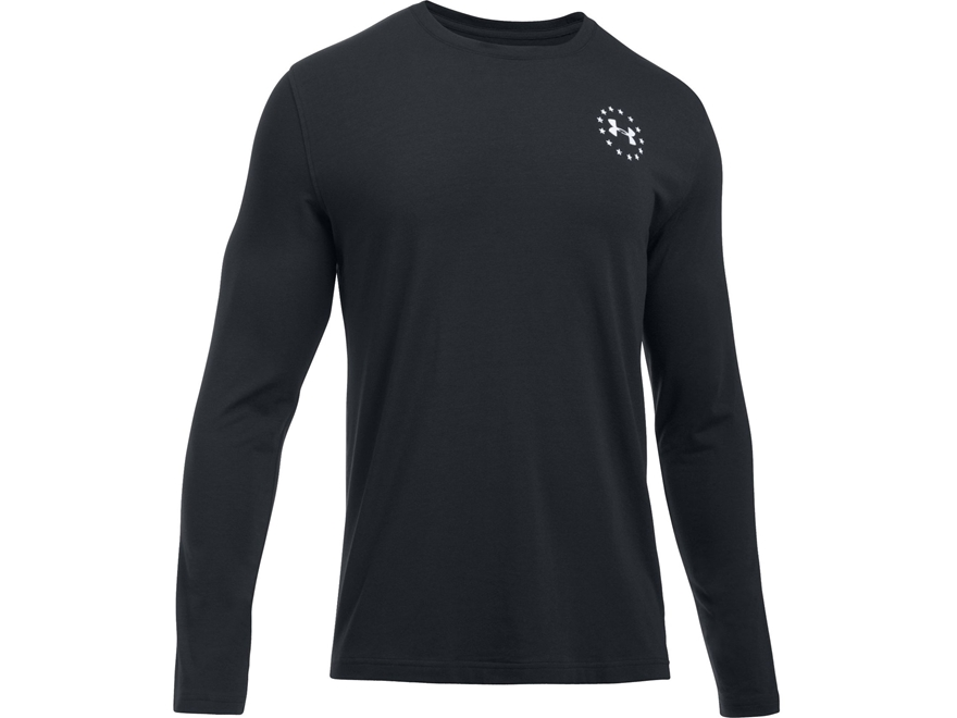 Under Armour Men's UA Freedom Flag T-Shirt Long Sleeve Charged Cotton