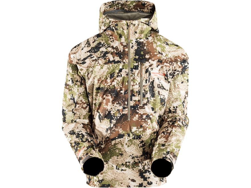 Sitka Gear Men's Flash Windproof 1/2 Zip Pullover Jacket Polyester