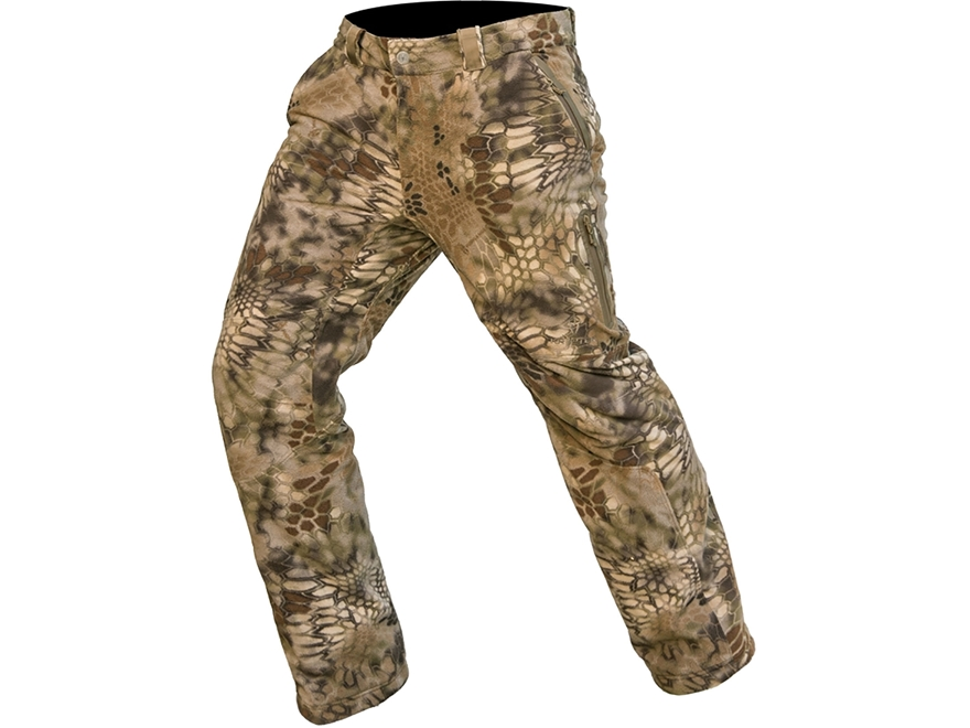 Kryptek Men's Vellus Insulated Fleece Pants Polyester Highlander Camo
