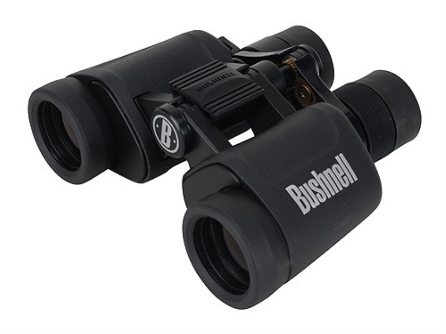 Bushnell Powerview Binocular 7-15x 35mm Zoom Instafocus Porro Prism Rubber Armored Black