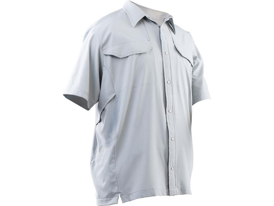 Tru-Spec Men's 24-7 Cool Camp Shirt Short Sleeve Polyester