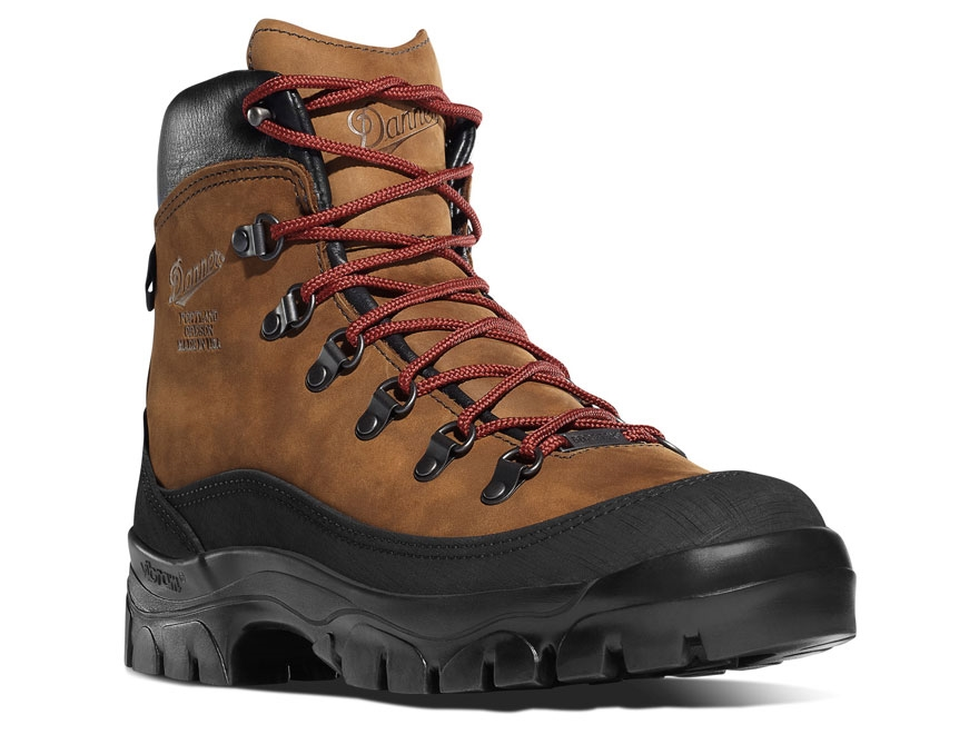 "Danner Crater Rim 6"" Waterproof Hiking Boots Leather Brown Women's"