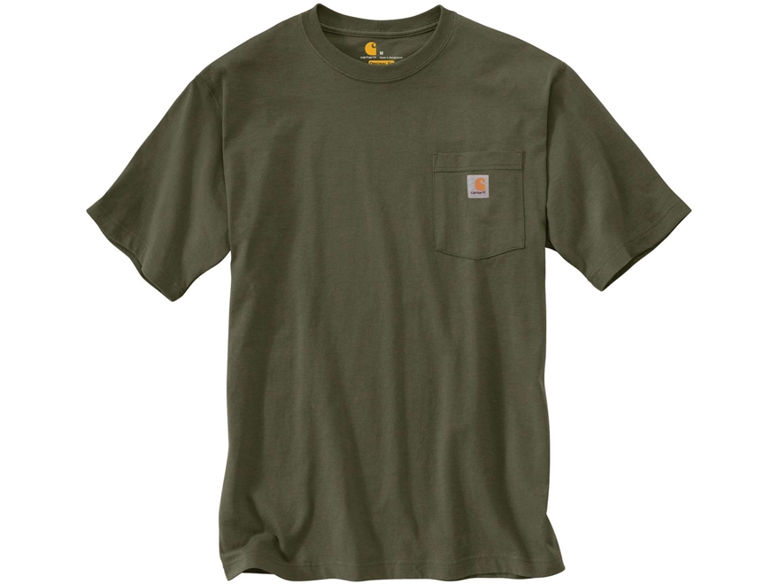 Carhartt Men's Workwear Pocket T-Shirt Short Sleeve Cotton