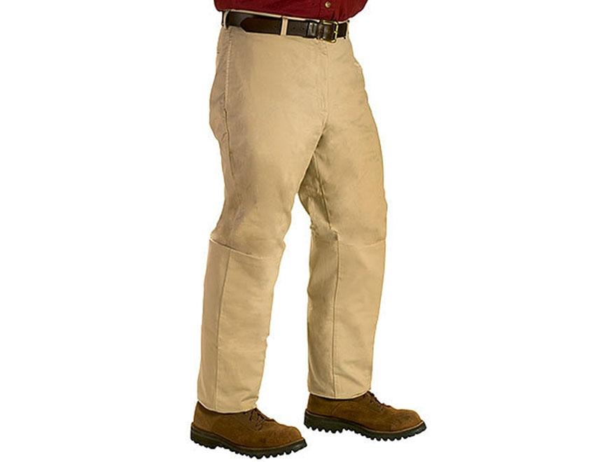 TurtleSkin Men's SnakeArmor Snake Resistant Pants Cotton Khaki